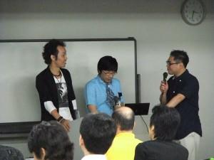 リュウ坂口さんとiBSAの二人