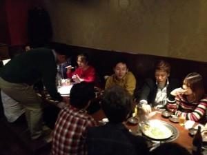 勉強会の後の懇親会も61名参加!